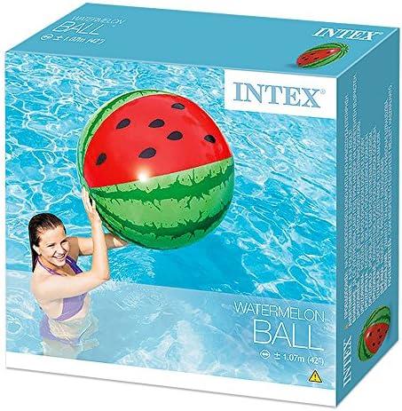 [スポンサー プロダクト]INTEX(インテックス) ビーチボール 浮輪 ウォーターメロンボール 直径107cm 58071 [日本正規品]
