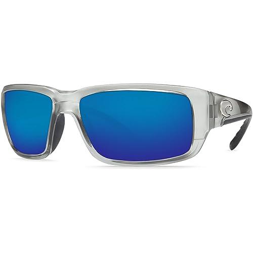 Costa del Mar Gafas de sol – fantail- lente/marco: plata de vidrio