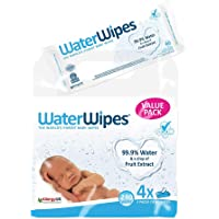 WaterWipes Sensitive Baby Wipes 240 Count Value Pack (Pack of 4)