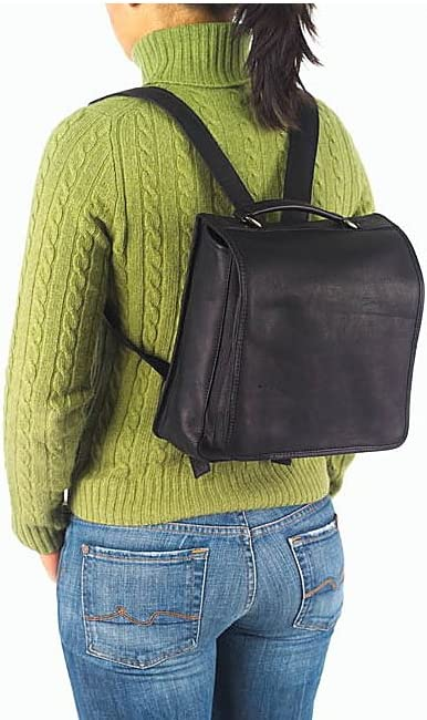 Vachetta Cafe Clava Hip-to-Be Square Backpack