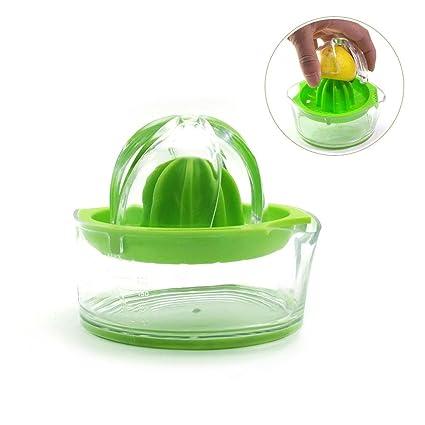 Exprimidor manual Exprimidor de zumo de naranja exprimidor exprimidor de cristal libre de BPA transparente/