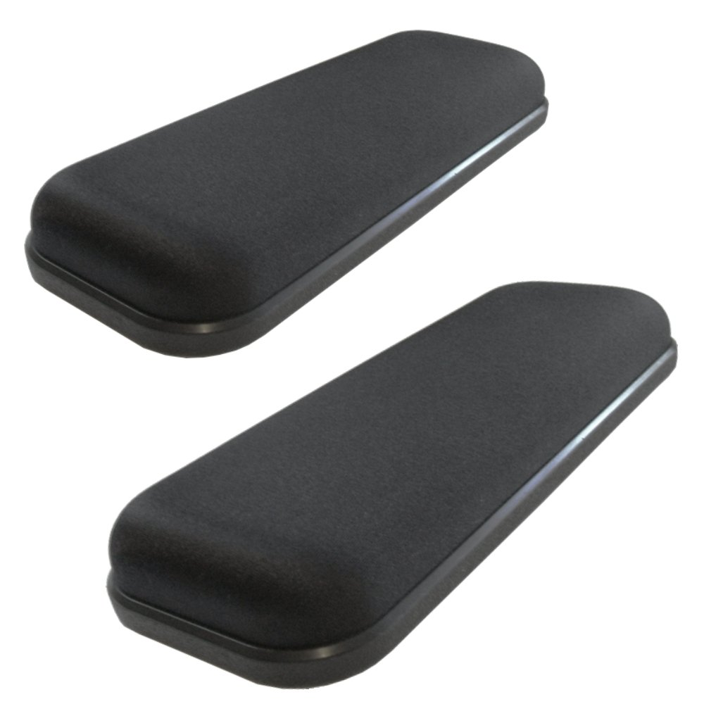 amazon com ultimate gel armrests chair arm pads for office chairs