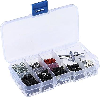 Globact Special Repair Tool /& Screws Box Set for 1//8 1//10 Scale RC Car
