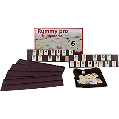 Aquamarine Games - Rummy, 6 jugadores (DO001) , color/modelo surtido