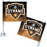 SOCCER Houston Dynamo 26940091 Car Flag, 11.75'' x 14''