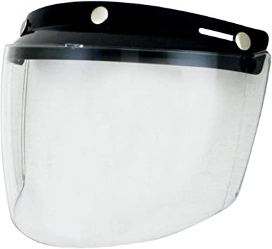 Echo Products 02-205 3-Snap Flip Shield, Clear