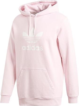 adidas Trefoil Sudadera con Capucha, Hombre, Rosa Clear Pink, XS: Amazon.es: Deportes y aire libre
