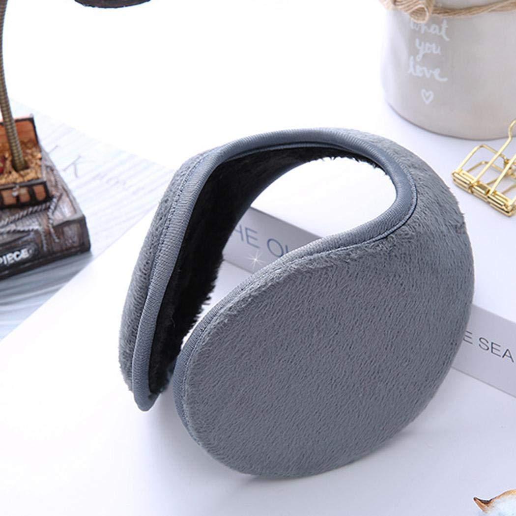 Fleece Ear Muffs//Ear Warmers,Unisex Foldable Ear Warmers Polar Fleece//kints Winter EarMuffs for Men /& Women