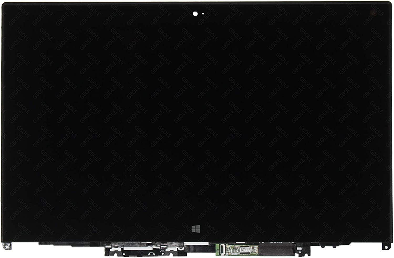 GBOLE Replacement for Lenovo ThinkPad Yoga 260 FHD 1920X1080 Touch LCD Screen Assembly with Bezel 01AX906 01HY615 (only for 1920X1080 Version)