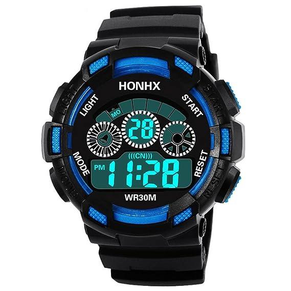 Relojes hombre deportivos,KanLin1986 reloj impermeable ...