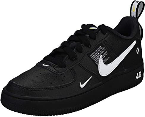 Nike Air Force 1 LV8 Utility BlackWhite Black Tour Yellow
