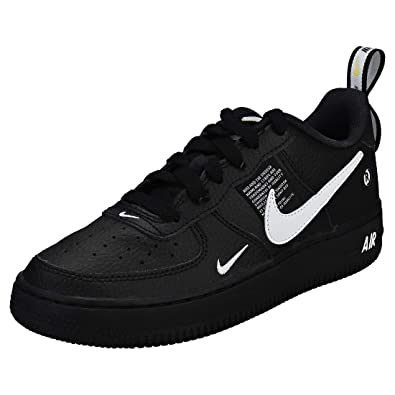 finest selection 33950 e4e91 Nike Air Force 1 Lv8 Utility (Gs) - blackwhite-black-