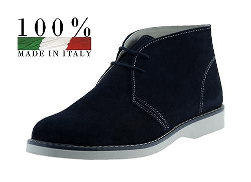 Polacchine Uomo Made in Italy in 100% Vera Pelle Collezione Primavera Estate  (42  8449e861ca6