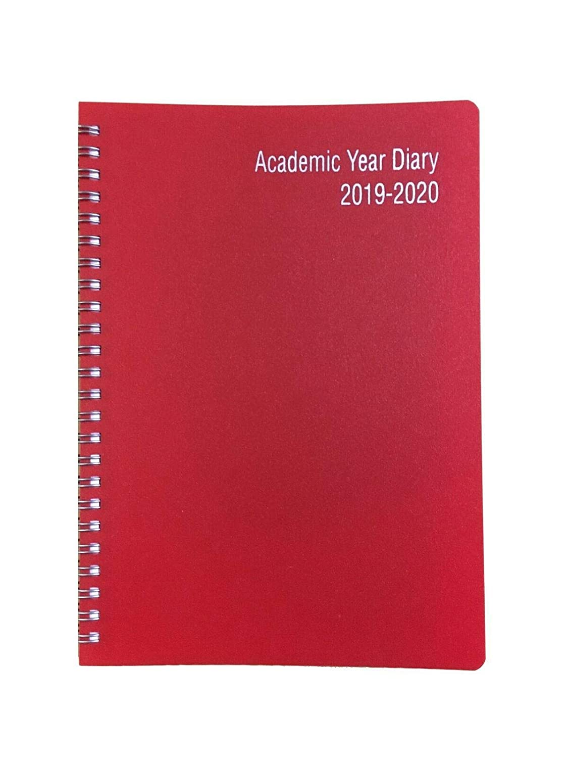 A5 Academic Diary Mid Year 2019-20 Week to View Organiser Wiro Hard Cover