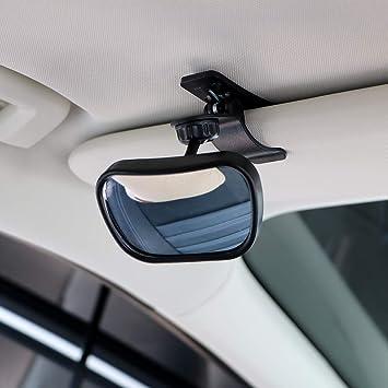 2X Auto Rückspiegel Kindersitz Baby Rücksitzspiegel Sicherheits 360° drehbar TOP