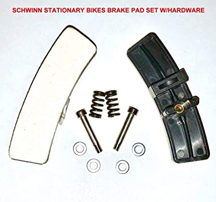 Pair of Schwinn Indoor Cycle Brake Replacement KIT with Hardware for  Schwinn Indoor Stationary Exercise Bikes/Cycles/Bicycles -NEW After Market