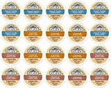 vue iced coffee - 20-count Single Serve Cups for Keurig K-Cup Brewers Grove Square Cappuccino Variety Pack Featuring French Vanilla, Hazelnut, and Caramel Cups