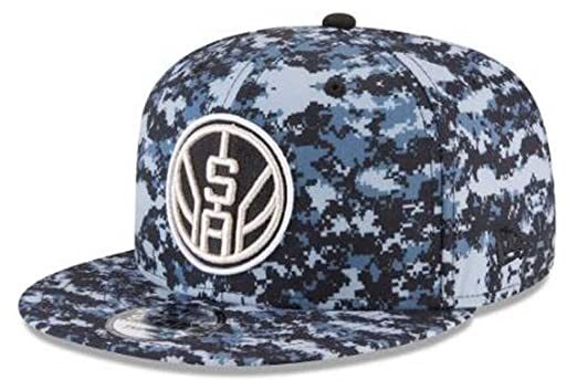 d5c4358bb Amazon.com: New Era NBA City Series San Antonio Spurs 9Fifty ...