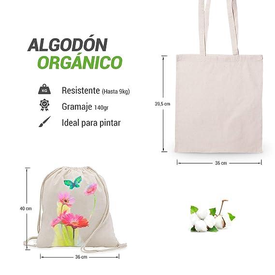 Mega Pack de Bolsas y Mochilas reutilizables de Cuerdas de ...