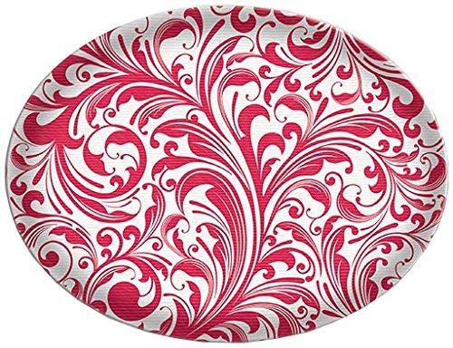 Michel Design Works Glass Soap Dish, Candy Cane