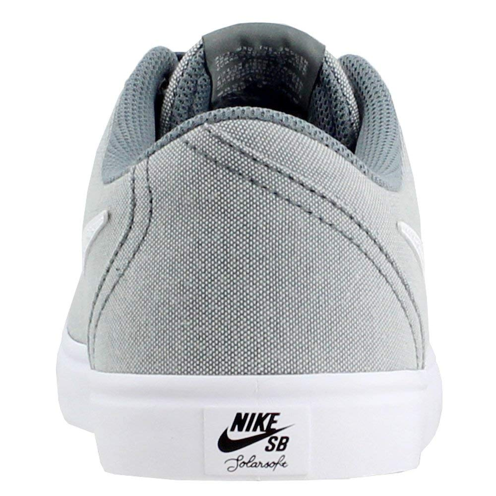Nike Men's SB Check Solar Canvas, Sneakers, Grey/White, 10 M US by Nike (Image #3)