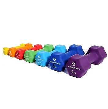 [7 parejas] Set Ahorro de pesas de neopreno »Lire« / Mancuernas disponibles