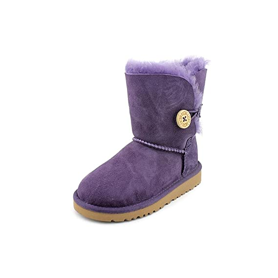 UGG Girls' Boots PurpleVelvet: Amazon.co.uk: Shoes & Bags
