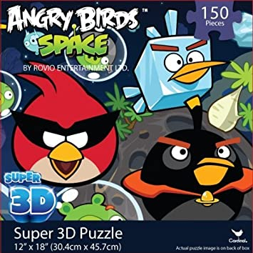 Amazon angry birds space super 3d puzzle angry birds space super 3d puzzle voltagebd Images