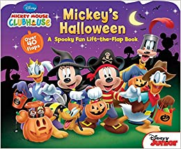Mickey Mouse Clubhouse Mickeys Halloween Disney Book Group