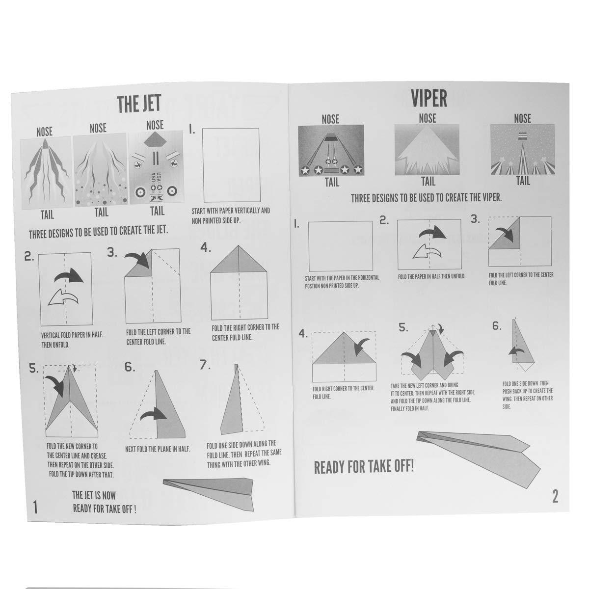 Kangaroo's Paper Airplane Kit; 72 Paper Airplanes by Kangaroo (Image #3)