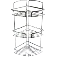In-house Stainless Steel Corner Shower Rack (Silver)