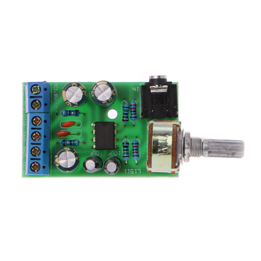 Ringbuu Dc 18 12v Tda2822m 20 Channel Stereo Mini Aux Amp 2 Subwoofer Audio Amplifier Circuit Board Diy Module Home Theater