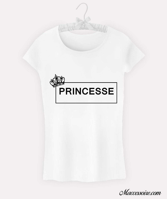 T-Shirt Femme Princesse Logo