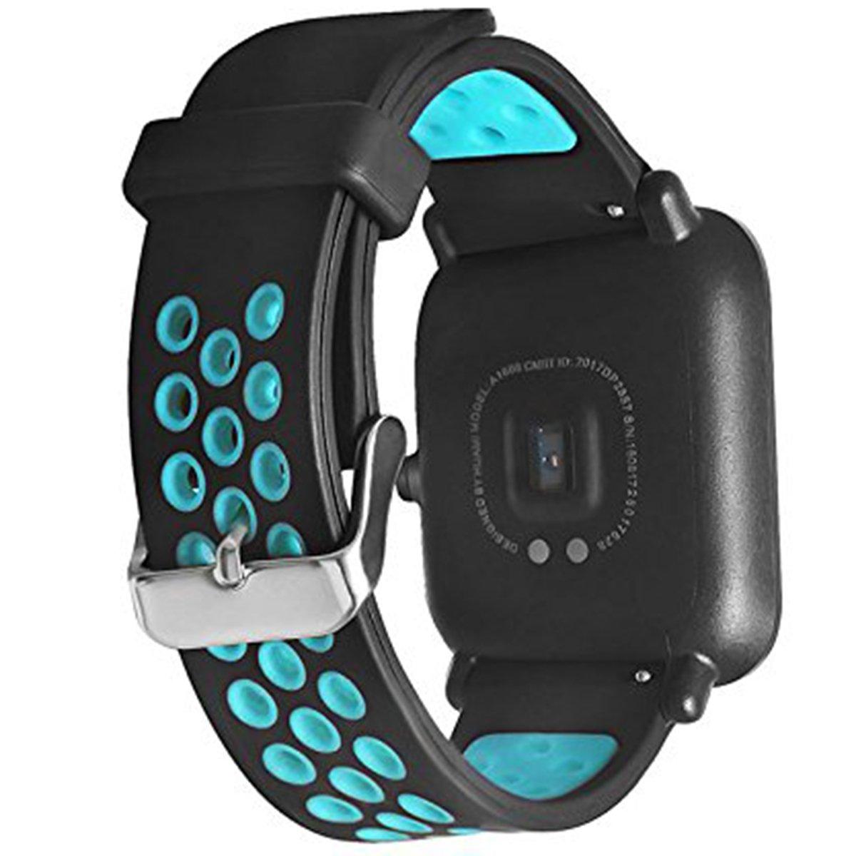 Elespoto 20mm Correa para Motorola Moto 360 2 generación 42 mm ...