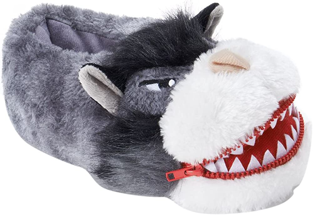 Big Bad Wolf Slippers for Boys