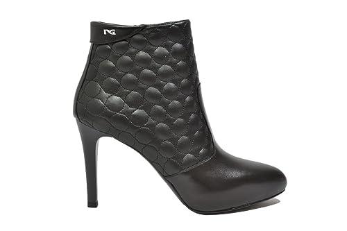 NERO GIARDINI Tronchetti scarpe donna nero 9634 elegante mod. A719634DE
