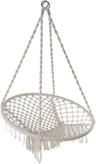 uublik Hammock Chair Cotton Fabric Swing