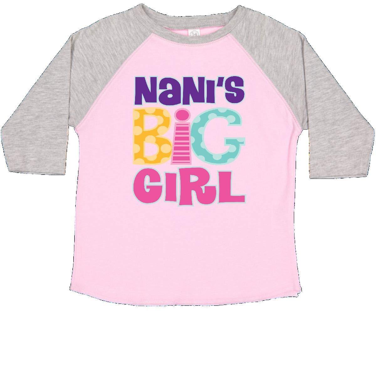 inktastic Nanis Big Girl Toddler T-Shirt
