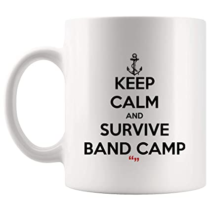 Amazon.com: Keep Calm Survive Band Camp Inspirational Coffee ...