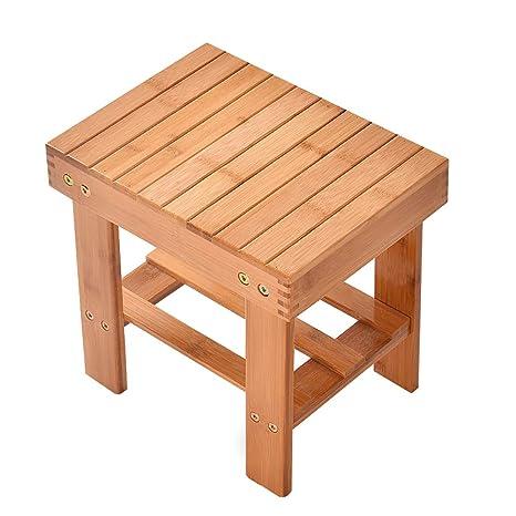 Groovy Amazon Com Yamalans Multfunctional Bamboo Stool Seat Cjindustries Chair Design For Home Cjindustriesco