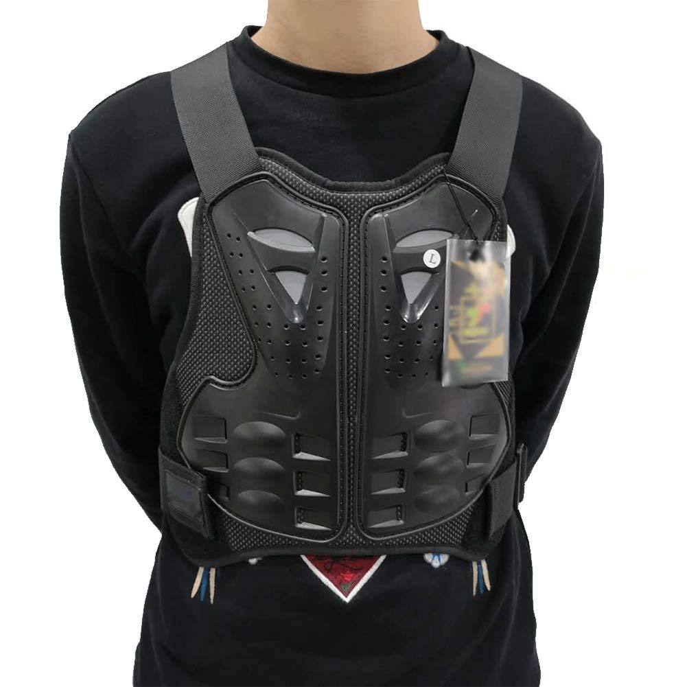 Gilet Protettivo per Moto Protezione del Torace Proteggi la Schiena Gilet di Protezione Sci Giacca Moto Giacca Moto Motocross Body Guard Armatura Protettiva Sport Body Armor Jacket