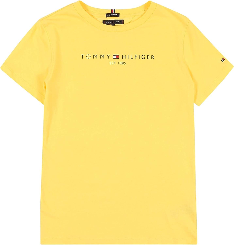 Tommy Hilfiger Camiseta Essential Amarillo Niños 8 Amarillo: Amazon.es: Ropa y accesorios