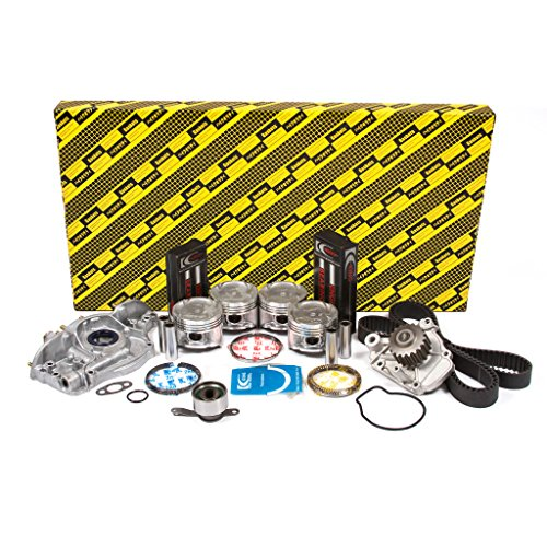 (OK4028B/0/0/0 92-95 Honda Civic Del Sol Vtec 1.6L SOHC D16Z6 Engine Rebuild Kit)