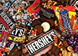 MasterPieces Hersheys Mayhem - Chocolate Collage 1000 Piece Jigsaw Puzzle