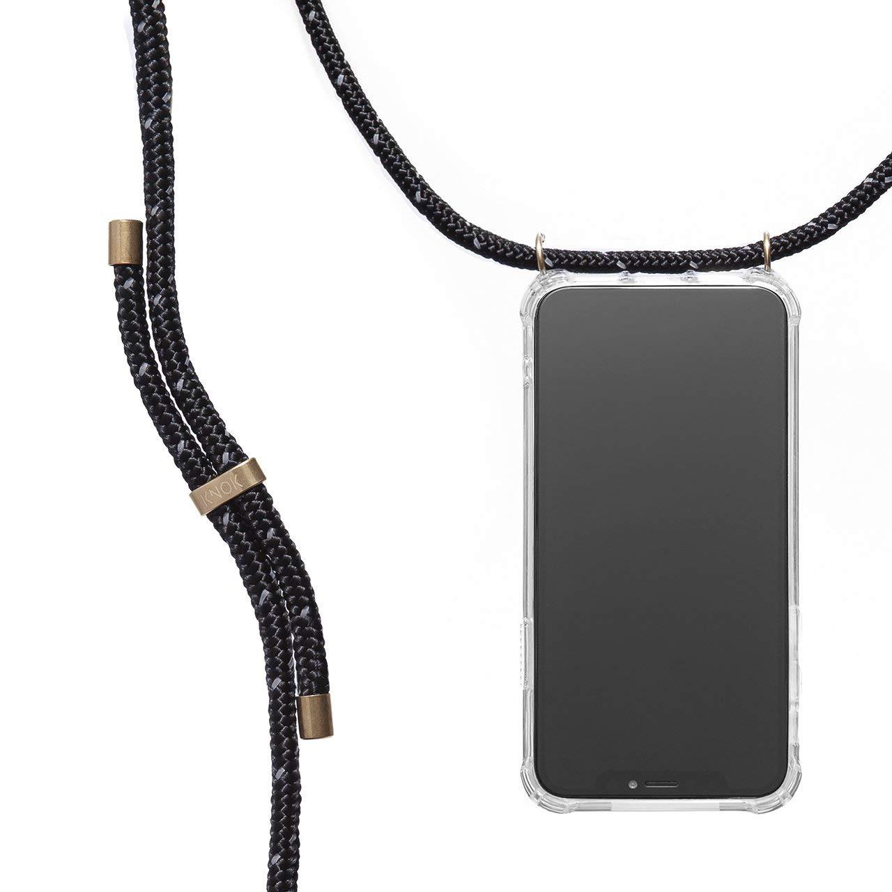 con Cordon para Llevar en el Cuello Carcasa de m/óvil iPhone Samsung Huawei con Correa Colgante Hecho a Mano en Berlin Case KNOK Funda Colgante movil con Cuerda para Colgar Huawei P20