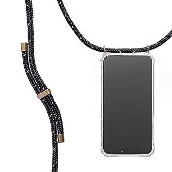 KNOK case KNOK Carcasa de movil con Cuerda para Colgar Huawei P20 Lite Funda para iPhone//Samsung//Huawei con Correa Colgante con Cordon para Llevar en el Cuello Hecho a Mano en Berlin