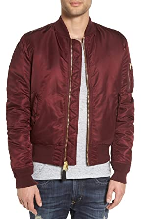 b95482e6f9d20 Alpha Industries Men s MA-1 Slim Fit Bomber Flight Jacket
