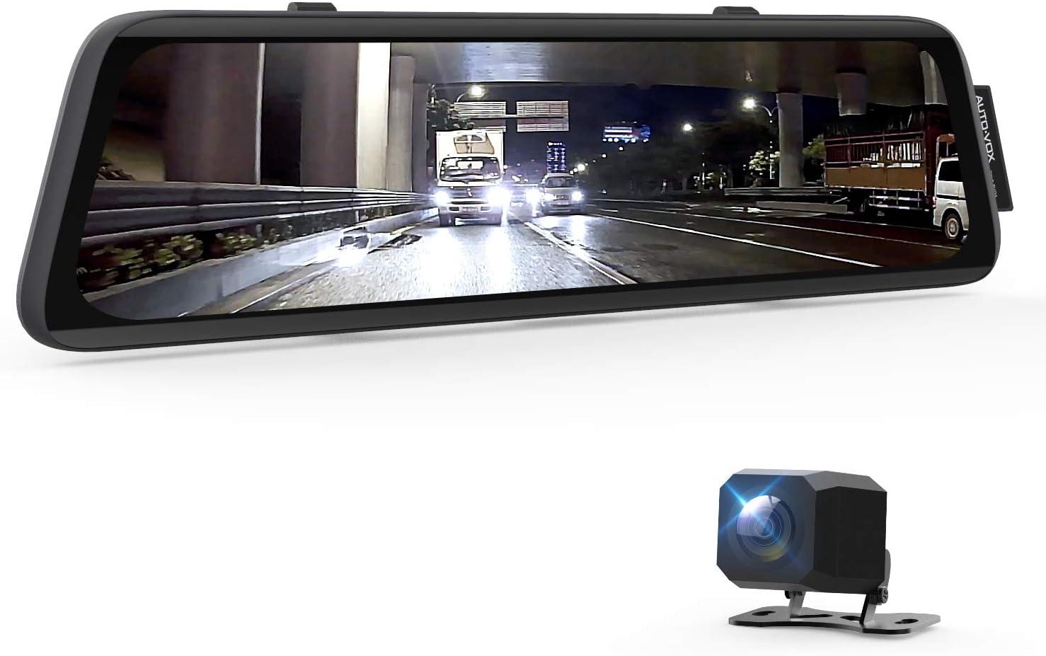 AUTO-VOX V5 Mirror Dash Cam Review