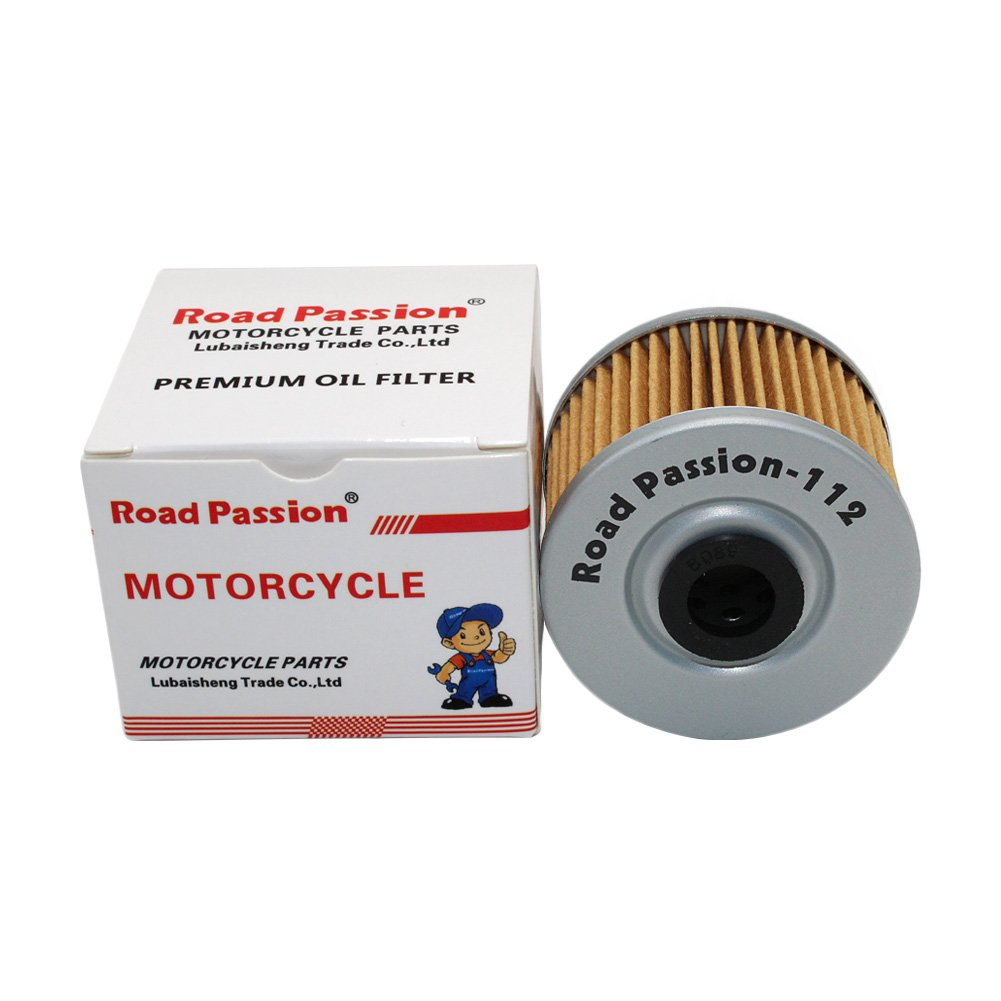 pack of 4 Road Passion High Performance Oil Filter for KAWASAKI KSR110 02-11 KLX110 02-16 KLX140 08-16 KLX250 90-92 KLX250R 91-97