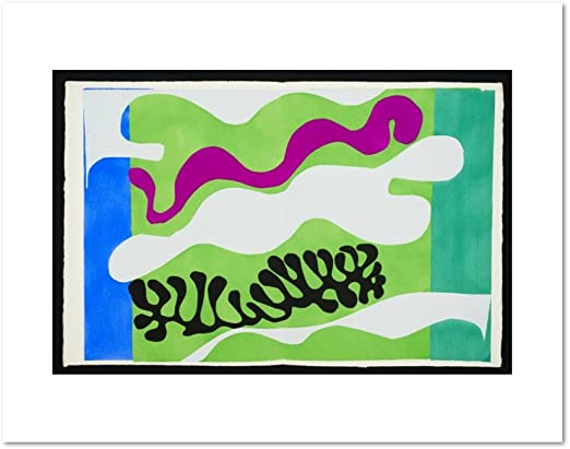 The Codomas ABSTRACT ART PRINT 1947 by Henri Matisse Modern Poster 11x14